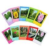 Sunmns 10 Pieces Colorful Mini Photo Picture