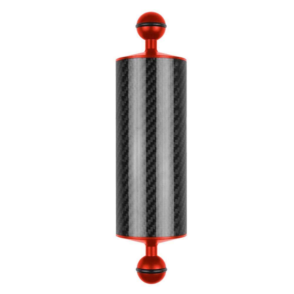 runnerequipment Brazo de flotabilidad de Flotador subacu/ático de Fibra de Carbono para c/ámara de Buceo Video Fotograf/ía Luz//Montaje estrobosc/ópico