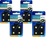 Elive LED Light Pods - Warm White (4 Pack)