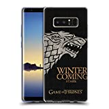 Official HBO Game Of Thrones Stark House Mottos Soft Gel Case for Samsung Galaxy Note8 / Note 8