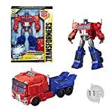 Transformers ToysOptimus PrimeCyberverse Ultimate Class Action Figure RepeatableMatrix Mega Shot Action Attack Move Toys for Kids 6 and Up,11.5 Inch