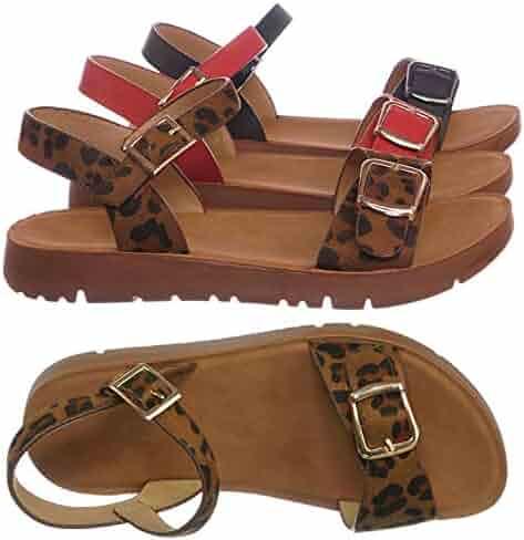 ac572e0cbb3 Aquapillar Girl Children Comfort Flat Sandal - Kids Size Open Toe Shoe