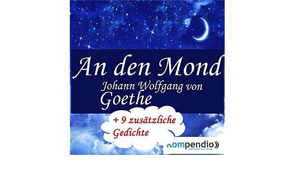 Amazoncom An Den Mond Audible Audio Edition Johann