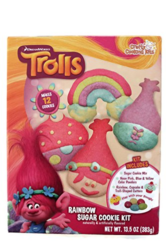 Dreamwork Trolls Rainbow Sugar Cookie Kit