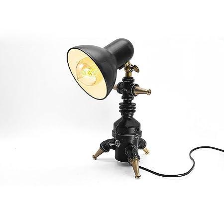 Desinger Metal Ideas nostálgicas Lámpara de mesa Lámpara de ...