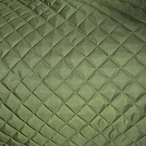Forro de tela acolchada de oliva 2 en caja para tapicería Material Vestido Ropa Chaquetas: Amazon.es: Hogar
