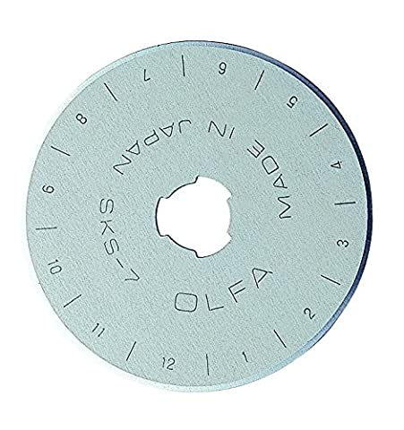 OLFA 9452 RB45-1 45mm Rotary Blade, 1-Pack - Refill Lame