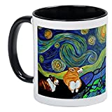 CafePress - Corgi Starry Starry Night - Unique Coffee Mug, Coffee Cup