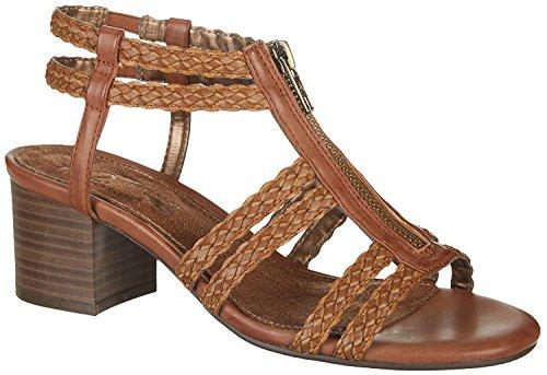 - Aerosoles A2 by Women's Mid Range Sandal, Brown Combo, 12 M US