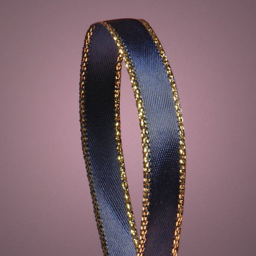 navy-blue-satin-ribbon-with-gold-edges-3-8-x-50yd