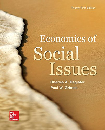 Economics of Social Issues (The Mcgraw-hill Series in Economics)