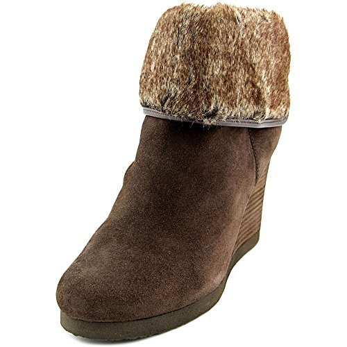 Wedge Fur Boots - 8