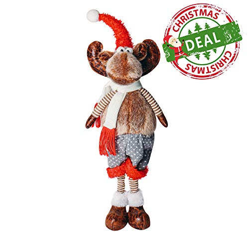 ITOMTE Swedish Handmade Reindeer Stuffed Figurines - 16
