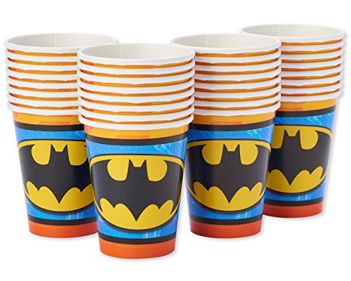 American Greetings Batman Paper Party Cups, Paper Cups, 32-Count