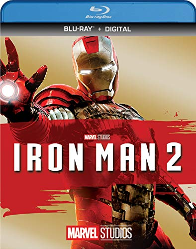 IRON MAN 2 [Blu-ray] - Mickey Rourke Iron