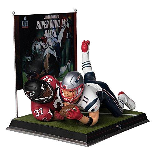 Forever Collectibles Julian Edelman New England Patriots Super Bowl LI Amazing Catch Figure NFL
