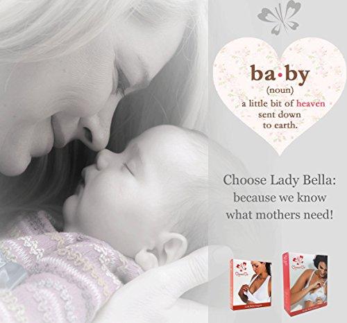 Lady Bella Lingerie Damen Schwangerschafts- & Still-BH Schwarz WWbEt7
