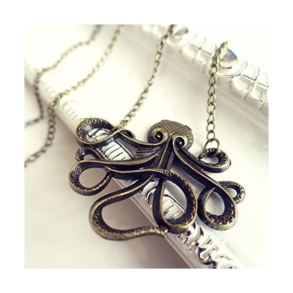 Eternity J. Vintage Retro Necklace Animal Pendant Chain for Women 5