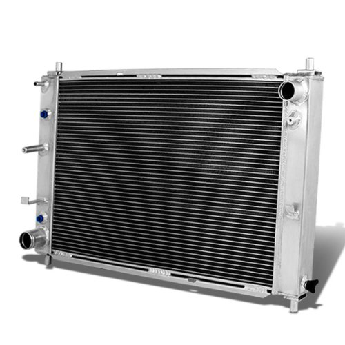 For Ford Mustang GT SVT Full Aluminum 3-row Racing Radiator - 4 Gen V6 V8 Automatic AT only