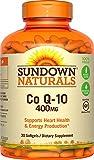 Sundown Naturals Co Q-10 400 mg, 30 Softgels Review