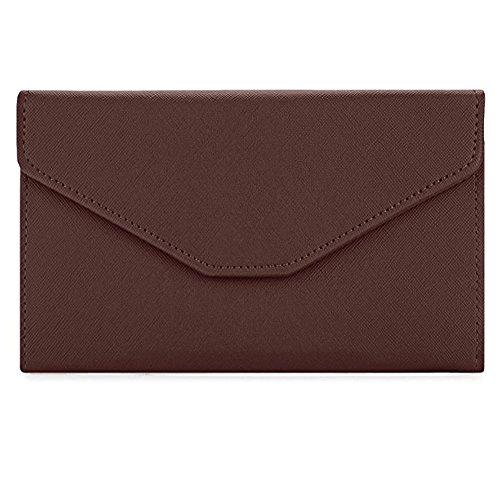 Brown Clutch Wallet - Sookiay Womens Envelope Clutch Wallet - Brown