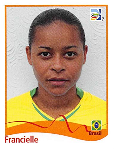Official 2011 Fifa World Cup - 2011 Panini FIFA Women's World Cup Stickers Soccer #263 Francielle Brazil Official 2 inch X 2 1/2 Inch Album Sticker