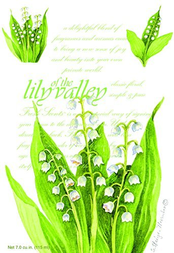 Fresh Scents Scented Sachets - Lily of the Valley, Lot of 18
