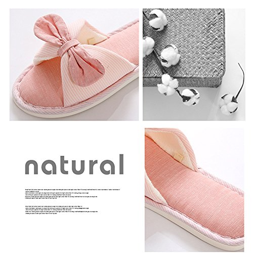 Indoor Beautiful Four Season Slippers Soft Sole xsby Grey Bedroom Cute Comfort Slipper Unisex xHRxqnB6