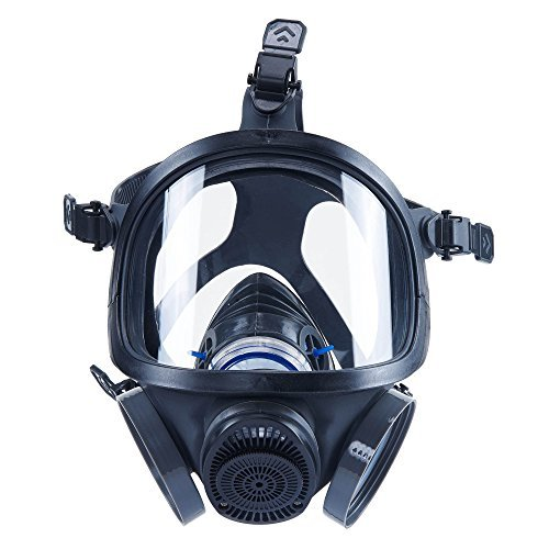 Holulo ST-M70-3 Organic Full Face Respirator Safety Mask (ST-M70-3 Mask+1 Pair 3# filter Cartridges) by Holulo (Image #6)