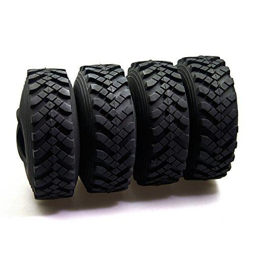 [해외]무선 휠 파트 비드 락 휠 림 1.9 ` 고무 타이어 For 1:10 Axial scx10 잠수복 RC 자동차 타이어 부품 felgen Tyre (4 개의 96mm) / RC Wheel Parts Bead lock wheel rim 1.9 ` ` Rubber tires For 1:10 Axial scx10 Tamiya RC car tire parts Felgen...