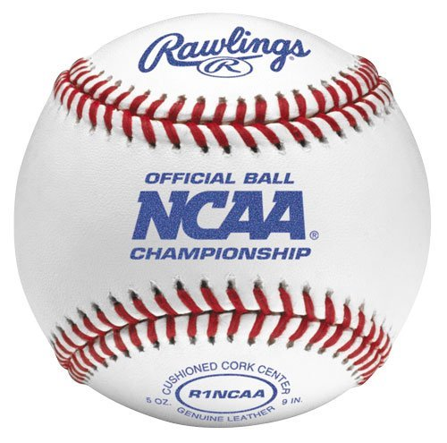 (Rawlings Flat Seam Collegiate NCAA League Baseballs, 12 Count, FSR1NCAA )