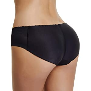 Joyshaper Women Padded Panties Butt Lifter Hip Enhancer Pads Underwear Briefs Seamless Shapewear