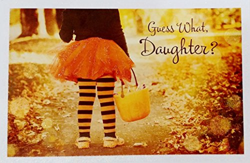 Daughter - You're as cute as can be right down to your toes! Happy Halloween / Trick-or-Treat Day Greeting Card