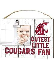 KH Sports Fan 10x8 Washington Huskies Clip It Weathered Baby Logo Collage Photo Frame