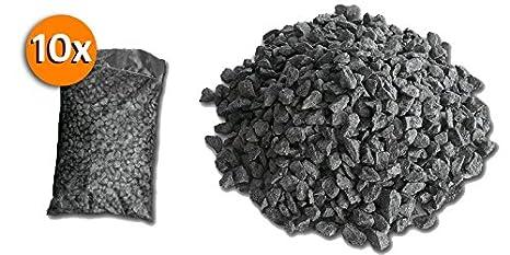 Graniglia Di Marmo Nero.Metroquadrocasa 10 Sacchi Da 25kg Graniglia Di Marmo Nero