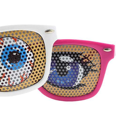 Fun sunglasses [ Anime Anime eyes/ Mesh Mesh type.] Party/Event toy store/ by Octane