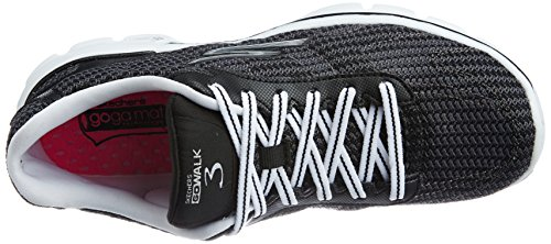 Go Walk White Fitknit Black Performance 3 Women's Skechers fqFwRW