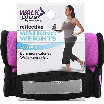 Walk Plus Reflective Calorie Burner Weights by Empower