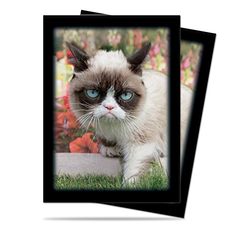Ultra Pro Grumpy Cat Flowers Standard Deck Protector Sleeves 50ct