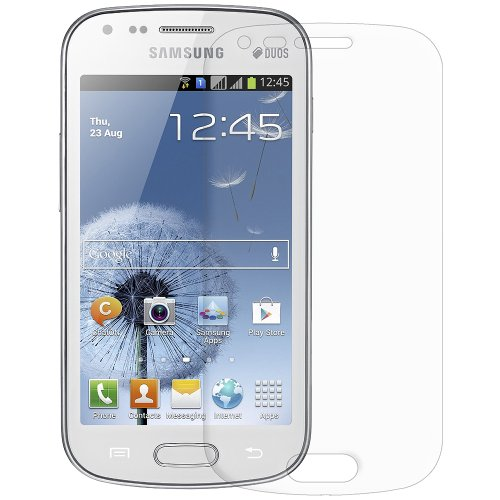 Amzer AMZ94844 Super Clear Screen Protector with Cleaning...