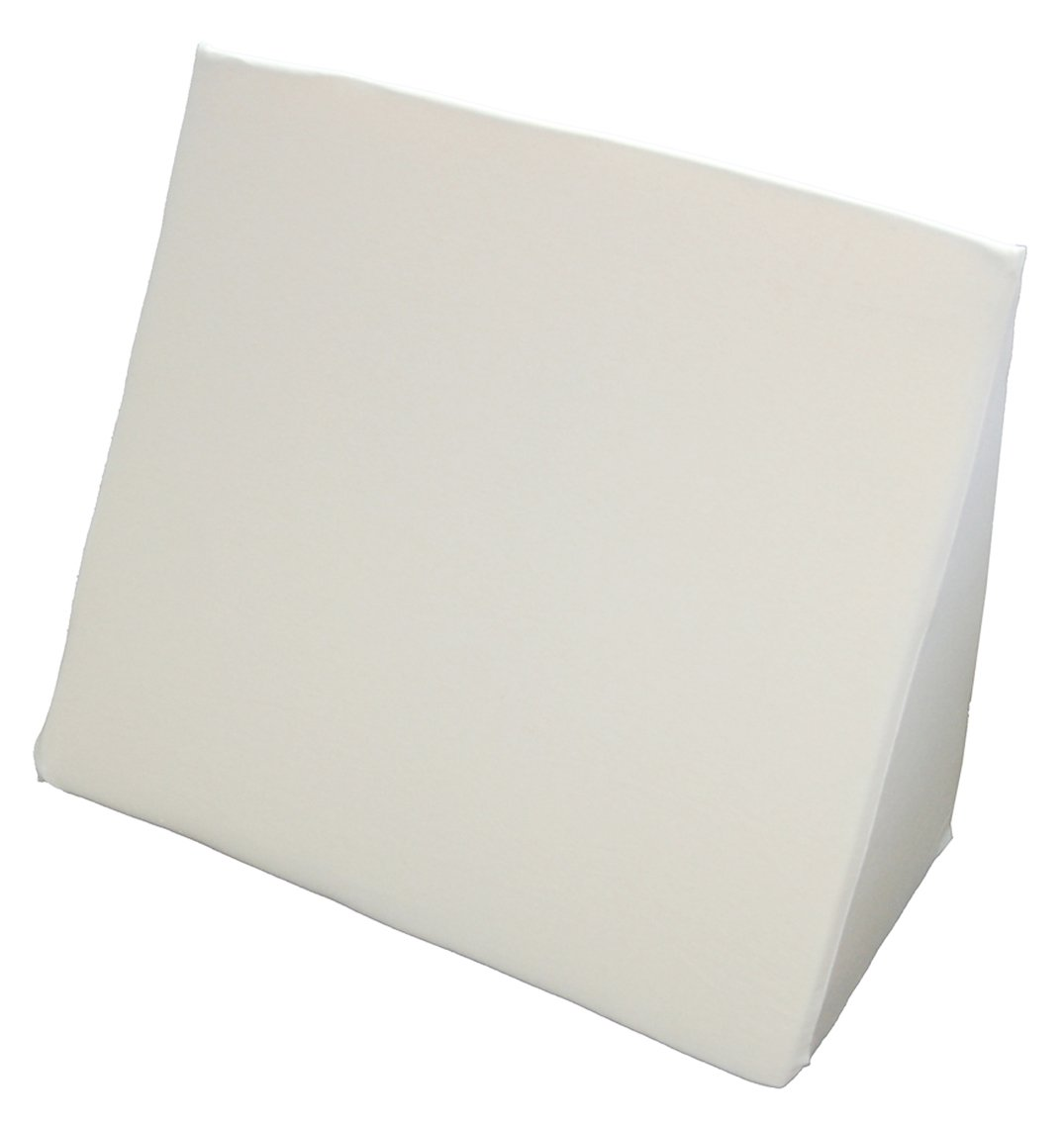 Beties Big Comfy Q1 Keilkissen extra groß + Baumwoll Jersey Bezug ca. 62x49x30 cm in vielen bunten Farben (Weiß)
