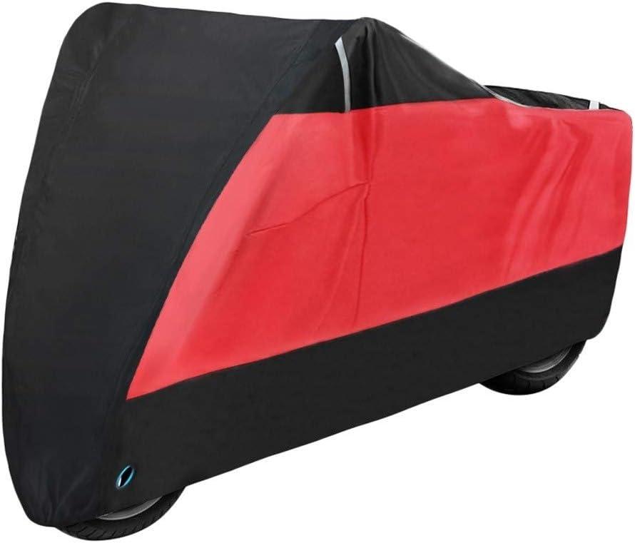 Color : Camouflage, Size : L for 1801mm 2000mm DONXIANFENG Moto Housse /étanche Anti-poussi/ère Protection UV Ext/érieur Int/érieur Pluie Moto Scooter Moto Cover for All Season