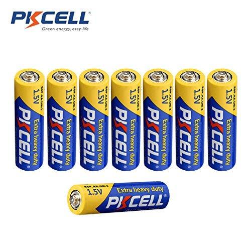 1.5V AA Batteries R6P UM3 Heavy Duty Batteries,8PC