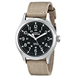 Timex Men's T49962 Expedition Scout Tan Nylon Strap Watch