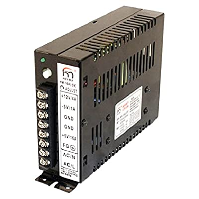 WINIT 15A Arcade Switching Power Supply 110 Watt, 110/220v for Video Game Cabinets Upright and Cocktail