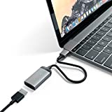 Satechi Aluminum Type-C HDMI Adapter 4K (60Hz) for 2016/2017 MacBook Pro, 2015/2016/2017 MacBook, Dell XPS, Lenovo, ChromeBook and more (Space Gray)