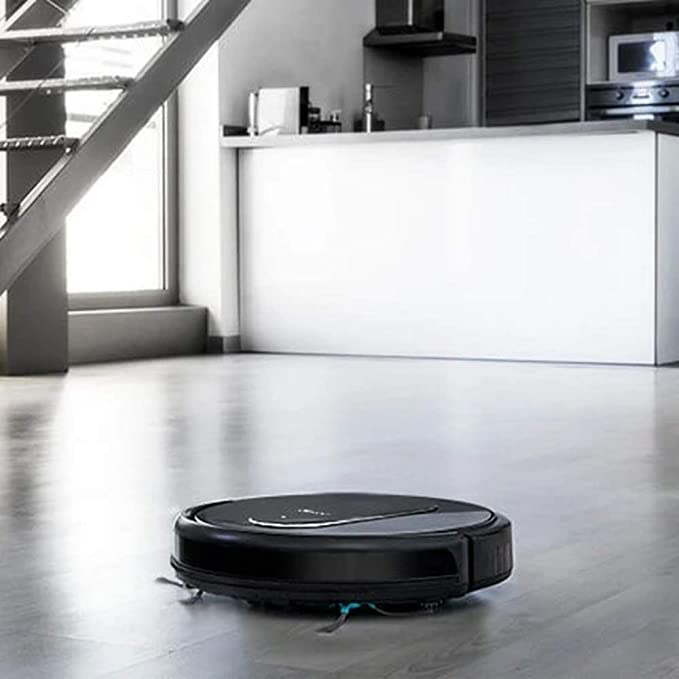 Cecotec Robot Aspirador Conga Serie 1490 Impulse. 1400Pa, Sistema iTech SmartGyro 2.0, friega, aspira y Barre a la Vez, App con Mapa, Limpieza Ordenada de Toda la Superficie, Alexa & Google Assistant.: