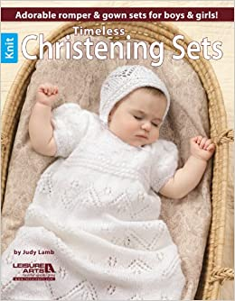 fe461c8f13a9 Timeless Knit Christening Sets  3 Sets for Him and Her  Judy Lamb ...