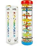 Here Fashion Baby Early Education 8'' Mini Rainmaker Tube Shaker Music Sensory Auditory Instrument Toy
