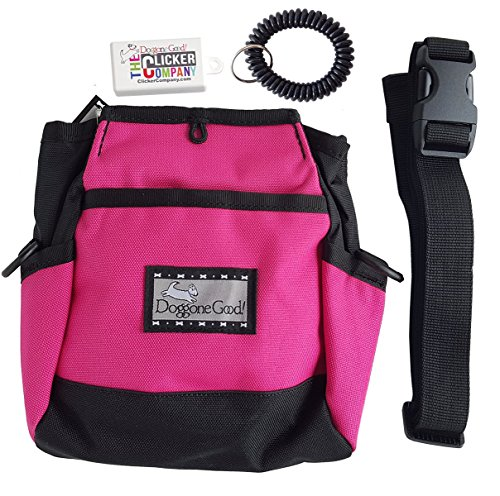 Rapid Rewards Deluxe Treat Pouch w/FREE Belt, Clicker, and Wrist Coil Buy Directly From the Manufacturer ()